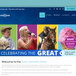Web design for the Great Yorkshire Show